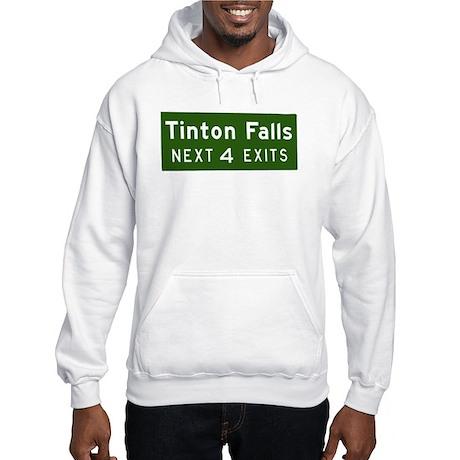 Tinton Falls, NJ Parkway Exit Hooded Sweatshirt