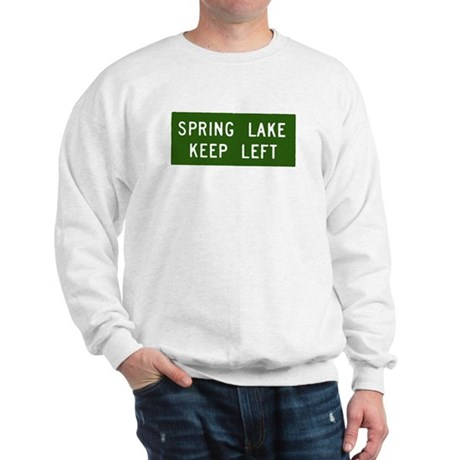Spring Lake, NJ Parkway Exit Sweatshirt
