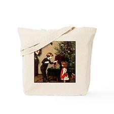 Unique Vintage children Tote Bag