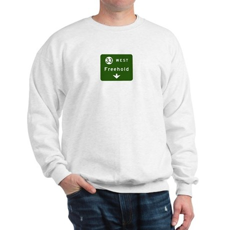 Freehold, NJ Parkway Exit T-s Sweatshirt