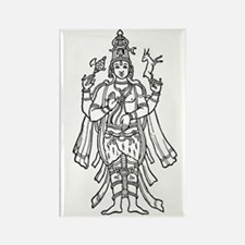 Shiva - Hindu Diety Rectangle Magnet (10 pack)