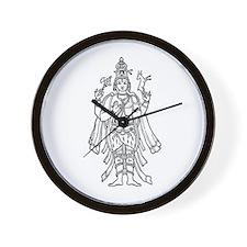 Shiva - Hindu Diety Wall Clock