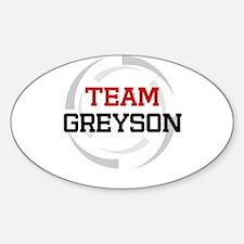 Greyson Oval Decal