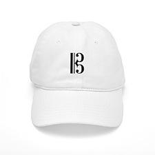 C Clef Baseball Cap