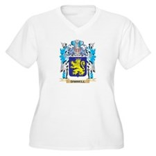 Darrell Coat of Arms - Family Crest Plus Size T-Sh