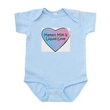 Mama's Milk is Liquid Love Infant Bodysuit