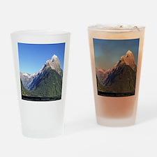 Mitre Peak & Milford Sound Drinking Glass