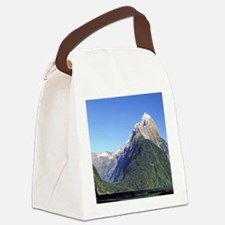 Mitre Peak & Milford Sound Canvas Lunch Bag