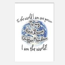 PBGV World2 Postcards (Package of 8)