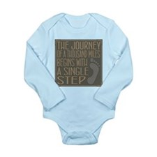 The Journey Long Sleeve Infant Bodysuit