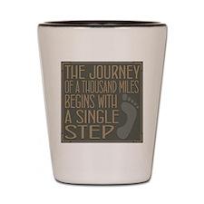 The Journey Shot Glass