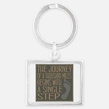 The Journey Landscape Keychain