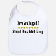 Hugged Stained Glass Artist Bib