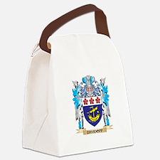 Cute Surname Canvas Lunch Bag