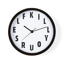 Subliminal Message Clock