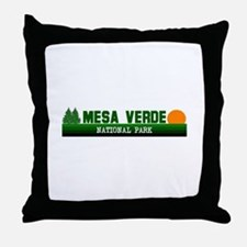 Mesa Verde National Park Throw Pillow