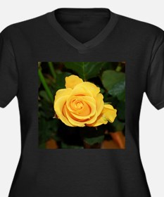 Rose yellow 001 Plus Size T-Shirt