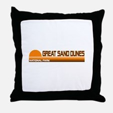Great Sand Dunes National Par Throw Pillow