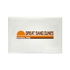 Great Sand Dunes National Par Rectangle Magnet
