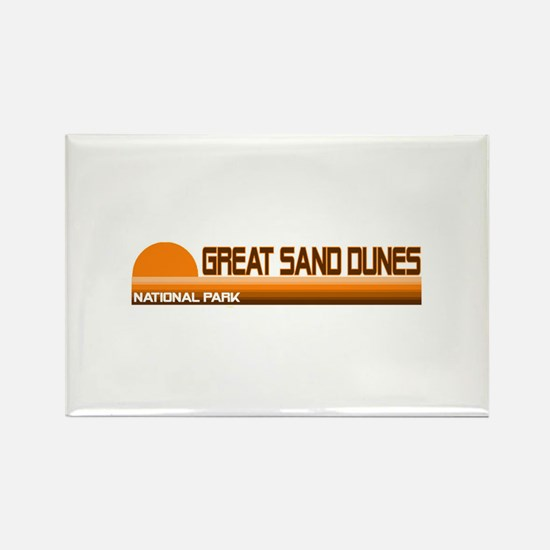 Great Sand Dunes National Par Rectangle Magnet