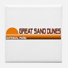 Great Sand Dunes National Par Tile Coaster