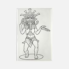 Kali - Hindu Demon Rectangle Magnet (10 pack)