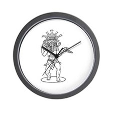 Kali - Hindu Demon Wall Clock