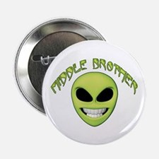 Alien Face Middle Brother Button