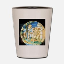 Aeneas carrying father Anchises and son Shot Glass