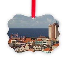 Willemstad: View of PUNDA with Pl Ornament