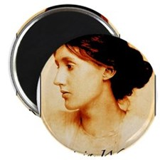 Virginia Woolf.color Magnets