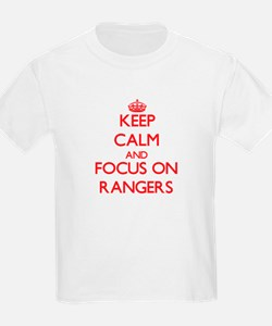 Keep Calm and focus on Rangers T-Shirt