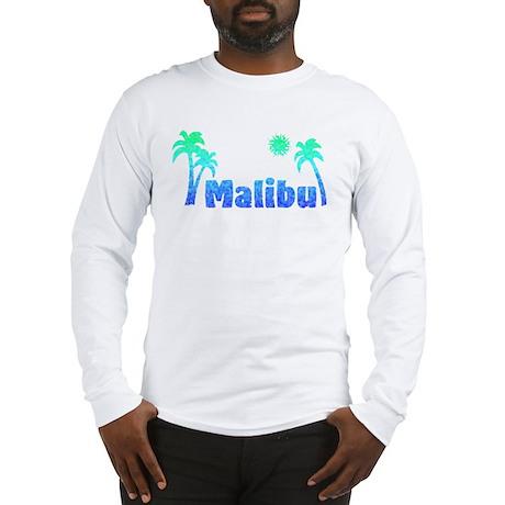 Malibu (Ocean) Long Sleeve T-Shirt