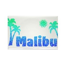 Malibu (Ocean) Rectangle Magnet