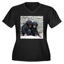 Chimpanzee002 Plus Size T-Shirt