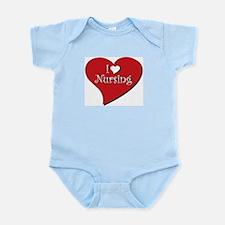 I love Nursing Infant Bodysuit