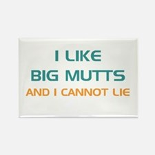 Big Mutts Rectangle Magnet (10 pack)