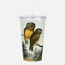 John Cassin California Owl Acrylic Double-wall Tum