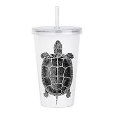 Vintage Turtle Acrylic Double-wall Tumbler