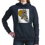 Ninja Beaver Women's Hooded Sweatshirt