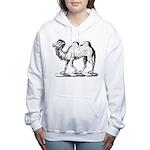 Camel Crest Women's Hooded Sweatshirt
