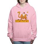 Funny Camel Women's Hooded Sweatshirt