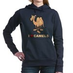 I Love Camels Women's Hooded Sweatshirt