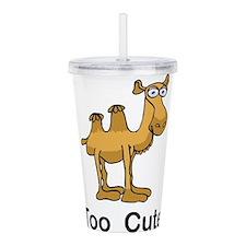 Too Cute Camel Acrylic Double-wall Tumbler