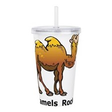 Camels Rock Acrylic Double-wall Tumbler