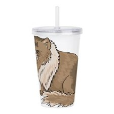 Himalayan Cat Acrylic Double-wall Tumbler