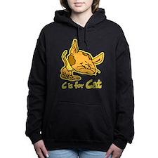 C is for Cat Women's Hooded Sweatshirt