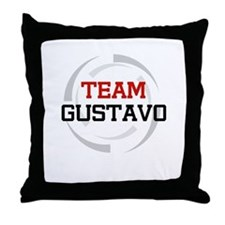 Gustavo Throw Pillow