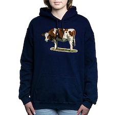 Cow Women's Hooded Sweatshirt