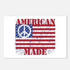Funny Made in america Postcards (Package of 8)